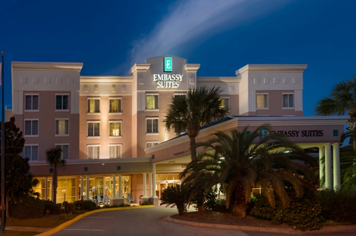 Embassy Suites Destin-Miramar Beach Entrance