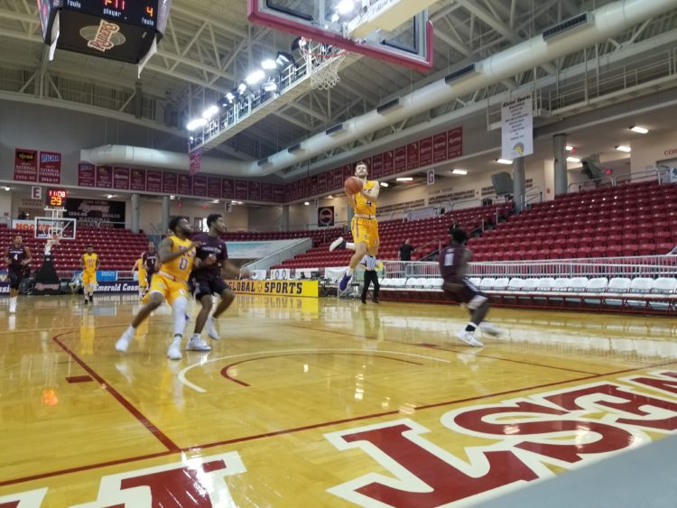 Tennessee Tech senior guard Aleksa Jugovic scored 10 points against Maryland Eastern Shore