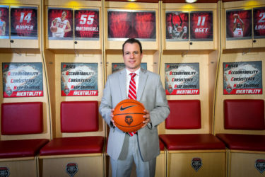 New Mexico Coach Paul Weir