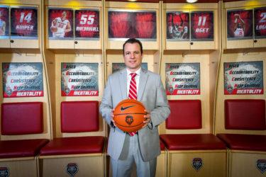 New Mexico Coach Paul Weir