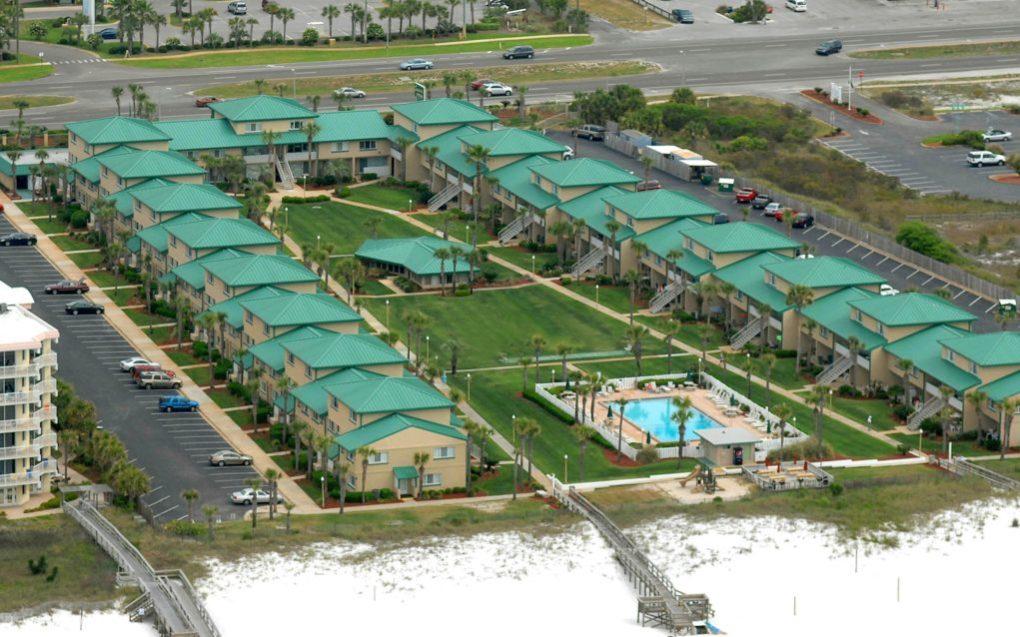 seaspray aerial view