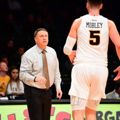 VCU head coach Mike Rhoades
