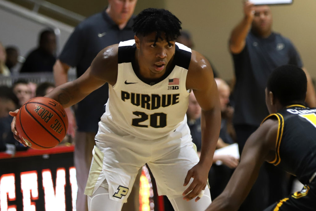 Purdue sophomore forward Trevion Williams