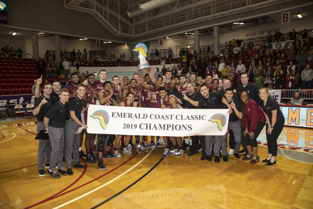 Florida State celebrated championship of sixth annual Emerald Coast Classic