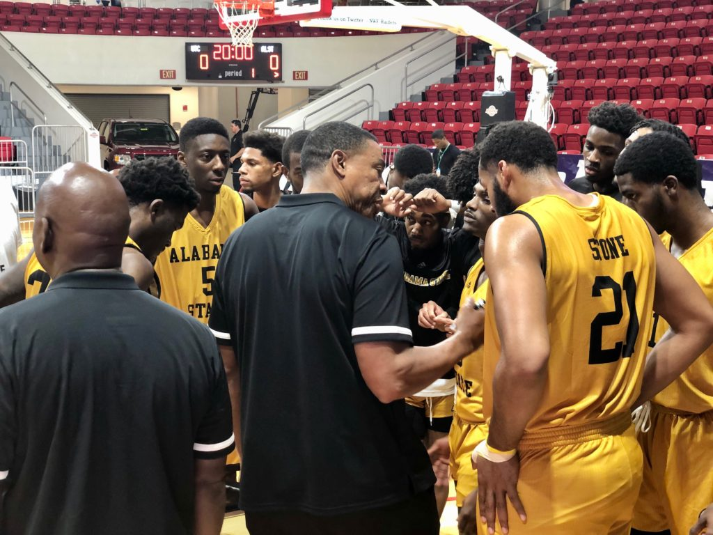 Coach Lewis Jackson earned his 200th career victory at Alabama State