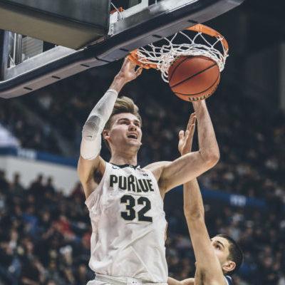 Purdue center Matt Haarms
