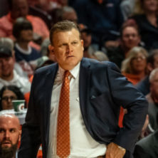Illinois coach Brad Underwood